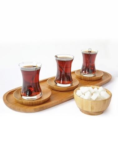 Bambum Çay Tabak Renksiz